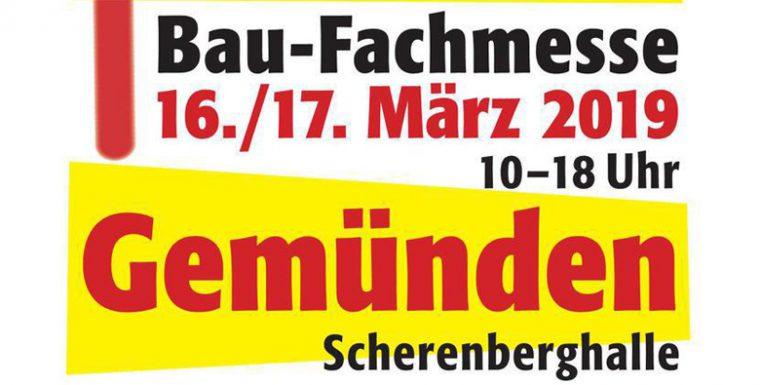 Bau-Fachmesse Modernes Bauen und Wohnen am 16. & 17. März in Gemünden