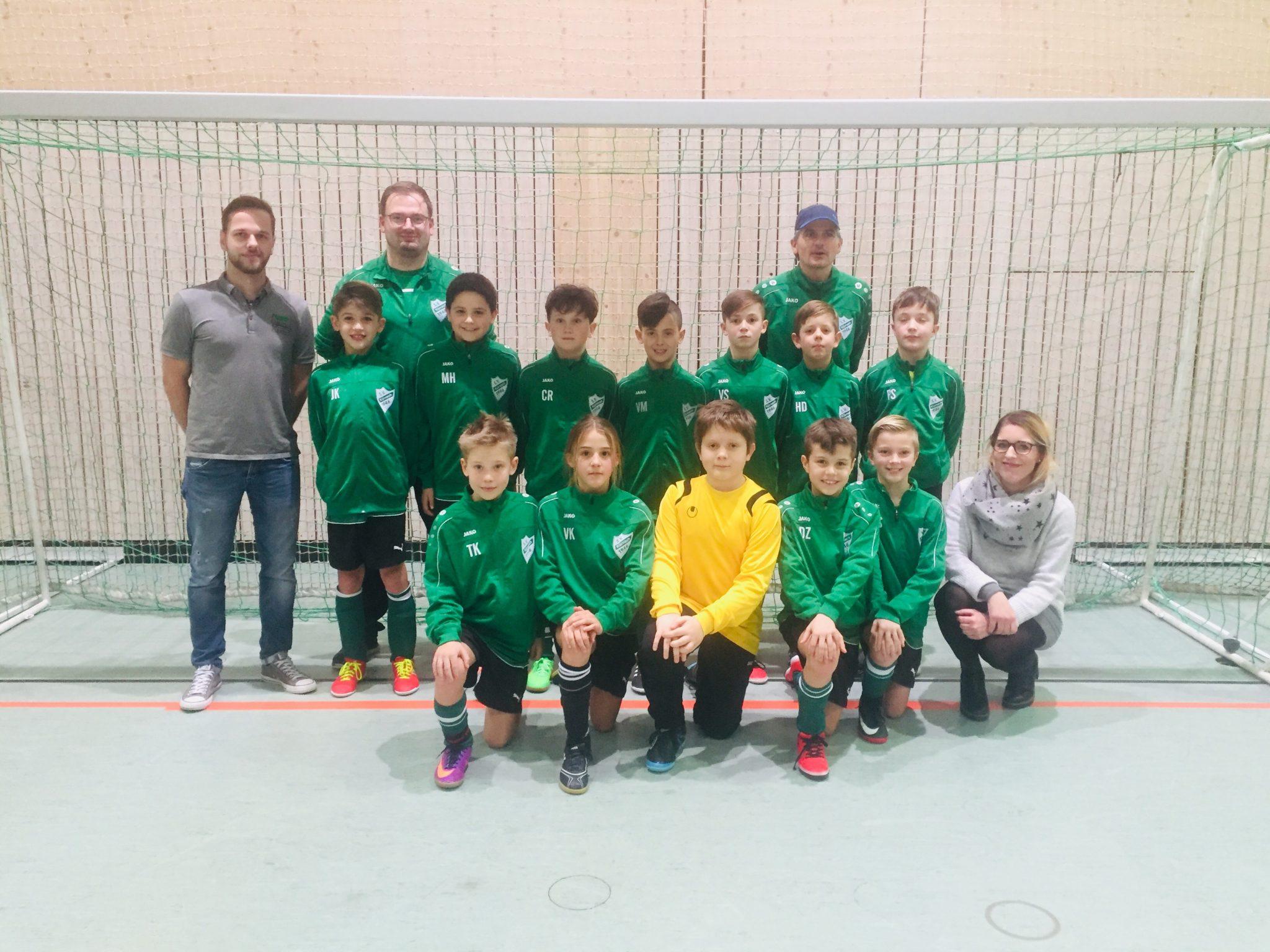 Sponsorbor SV Kürnach U11-1