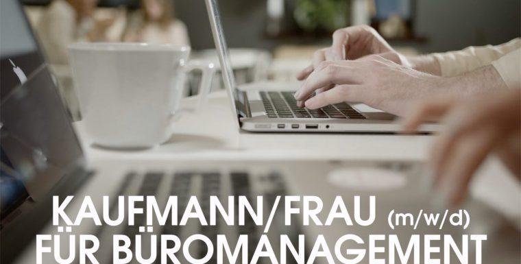 Azubi zum/zur Kaufmann/frau (m/w/d) für Büromanagement gesucht